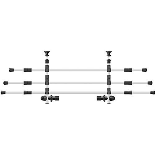 Trixie 13171 Auto-Gitter, Breite: 96-163 cm Höhe: 34-48 cm, silber/schwarz
