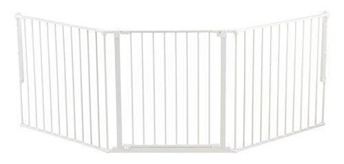 Baby Dan Konfigurationsgitter / Kaminschutzgitter Flex L, 90 - 223 cm -...