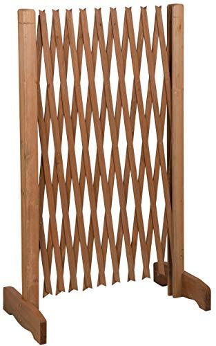 MaxxPro Hundezaun aus Holz | ausziehbare Breite 30-140 cm | freistehendes...