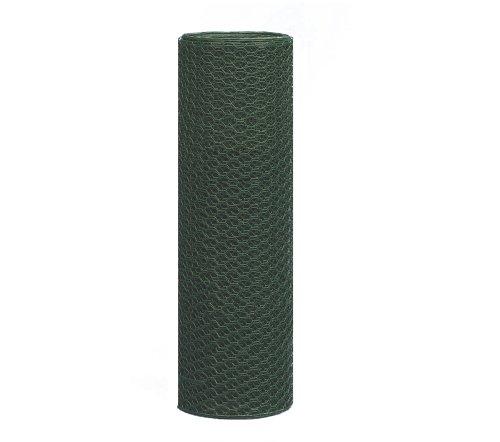 Sechseckgeflecht, grün, 500 mm Höhe, 10 m Rolle, 13 mm Maschenweite