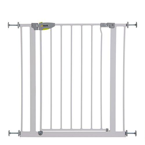 Hauck 597125 Squeeze Treppen- / Tür- schutzgitter für Kinder, Hunde und...