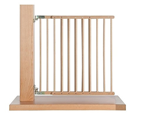 Impag Treppenschutzgitter Türschutzgitter 70-108 cm, schwenkbar wie eine...
