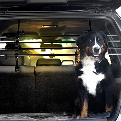 Dekolona TESTSIEGER: SEHR GUT Auto Hundegitter - Mit gratis Transporttasche...