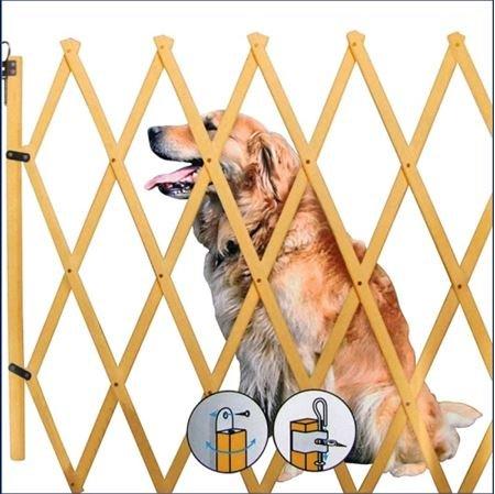 Spetebo Treppenschutzgitter ausziehbar bis 108cm - Höhe ca. 85 cm -...