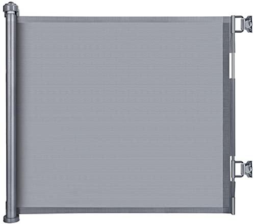 LSZE Treppenschutzgitter Ausziehbar Türschutzgitter 0-150 cm Einziehbares...