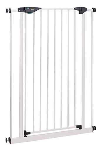 BOMI Türschutzgitter 73-161 cm | Extra Hoch | Ohne Bohren | Schließt...