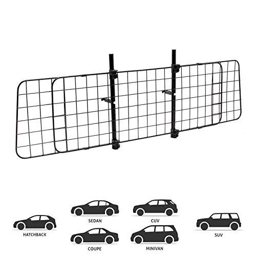 Wiltec Hundegitter fürs Auto mit Verstellbarer Breite von 87-135cm,...