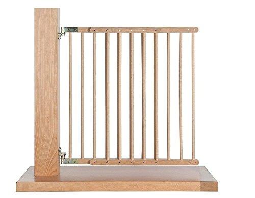 Impag® Treppenschutzgitter Türschutzgitter 70-108 cm, schwenkbar wie eine...