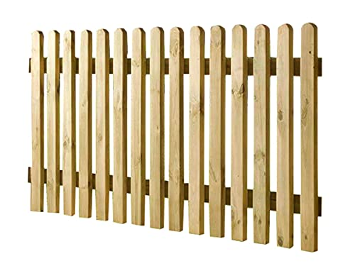 Lattenzaun KDI 180x80 Zaun Holz Holzzaun Gartenzaun Friesenzaun...