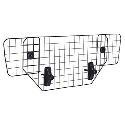Pawhut Hundeschutzgitter Auto Universal Kofferraumgitter verstellbar...