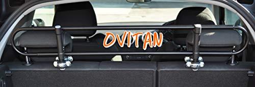 OVITAN® H02 Hundegitter zur Kopfstützenbefestigung Universal Trenngitter...