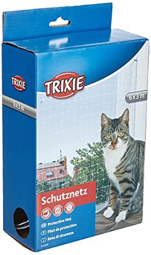 Trixie 44333 Schutznetz, 6 × 3 m, transparent