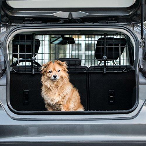 Heldenwerk® Universal Kofferraum Trenngitter für Hunde - Auto Hundegitter...
