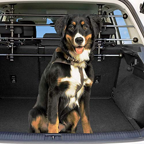 Dekolona ® Auto Hundegitter - Mit gratis Transporttasche - Optimaler Halt...