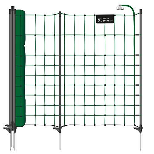 VOSS.PET Premium-Netz 12m 65cm petNET® Elektronetz Elektrozaun Gartenzaun...