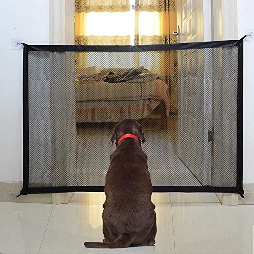 Hundebarrieren, Magic Gate Faltbar Hunde Türschutzgitter Tür- &...