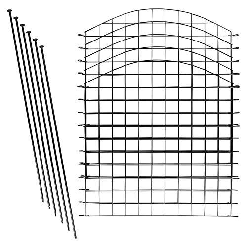 1PLUS Teichzaun Set/Komplett-Set in verschiedenen Verpackungseinheiten und...