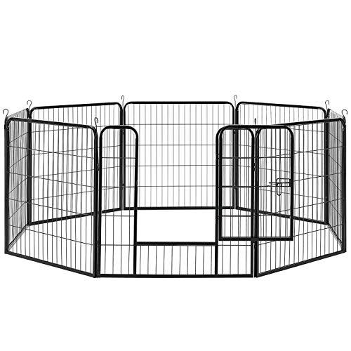 Sam´s Pet Metall Welpenauslauf | verriegelbare Tür | 80 cm |...