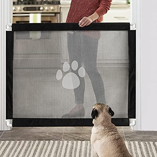 Namsan Hunde Türschutzgitter Einfach zu Installieren & Abschließbar...