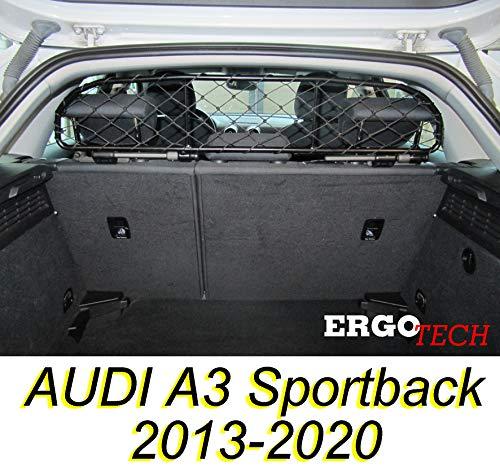 ERGOTECH Trennnetz Trenngitter Hundenetz Hundegitter für Audi A3 Sportback...