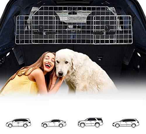 Hundegitter Auto, Kofferraum Trenngitter Universal für Hunde - Auto...